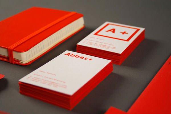 名片设计作品 - abbas