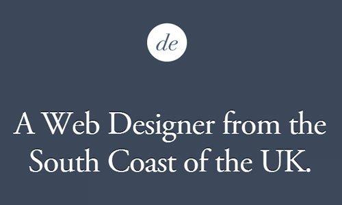 Dan Edwards - 迷你网页设计
