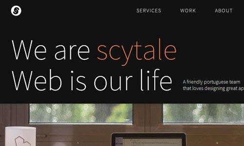 Scytale - 简约网站