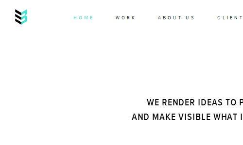 Case 3D - 简约网页设计欣赏