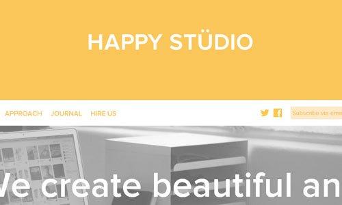 Happy Studio - 简单网站制作