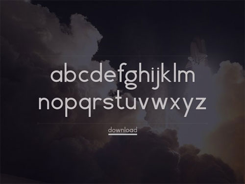 free 2013 font Vector typeface