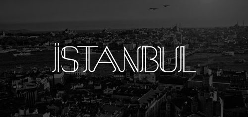 free 2013 font typeface Istanbul