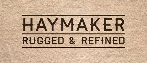 free 2013 Haymaker font typeface
