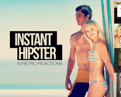 insatnt hipster thumb 那些让照片更美丽的Photoshop Action脚本