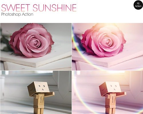 sweet sunshine 那些让照片更美丽的Photoshop Action脚本