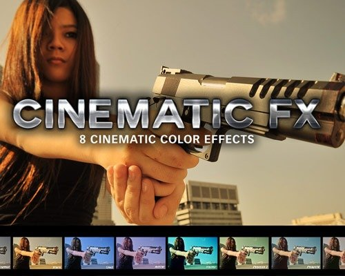 cinmatic fx thumb 那些让照片更美丽的Photoshop Action脚本