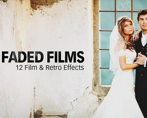 faded films 那些让照片更美丽的Photoshop Action脚本