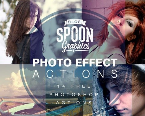 photo effects 那些让照片更美丽的Photoshop Action脚本