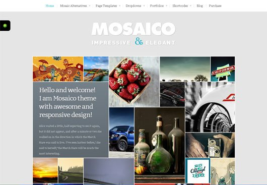 Mosaico Unique Magazine Theme