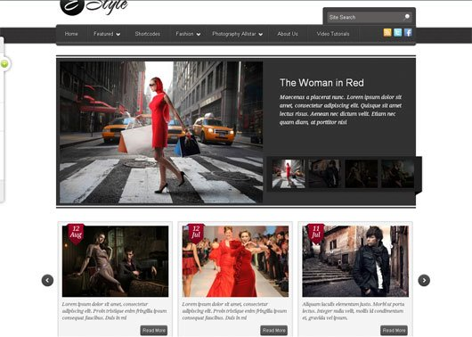 E-Style – A Fashion WordPress Theme