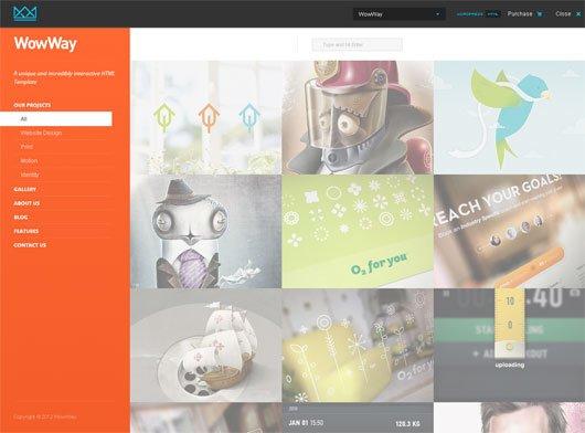 WowWay Interactive & Responsive HTML Portfolio