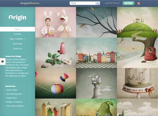 Origin WordPress Theme