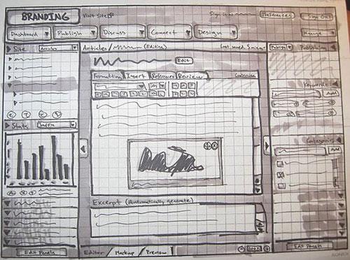 21.网页手绘草图