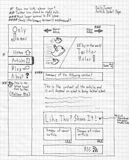 24.网页手绘草图
