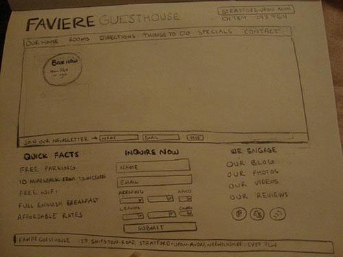 26.网页手绘草图