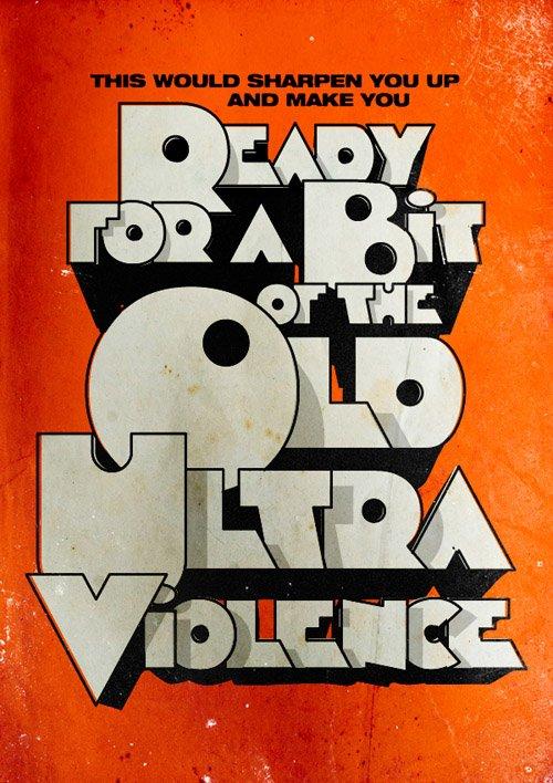 25张以文字排版为主的海报设计