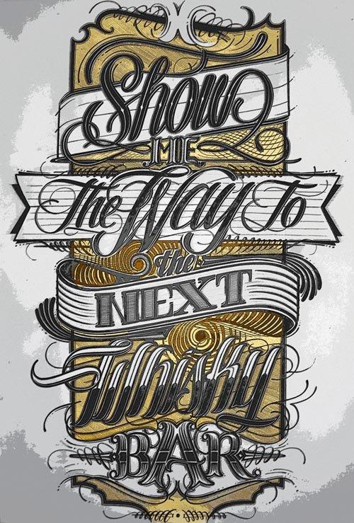 25张以文字排版为主的海报设计- 3