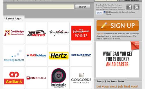 37个设计师们值得收藏的Logo设计资源分享网站