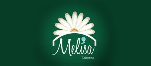 花logo - Jabones Melisa
