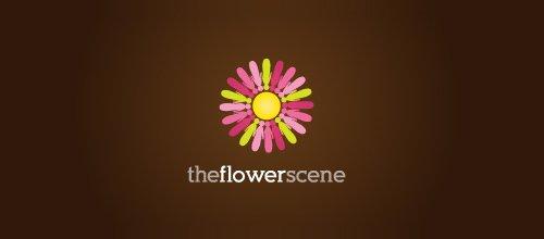 花logo - The Flower Scene