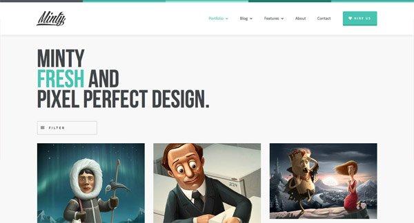 从WordPress主题上获取设计灵感 - 24