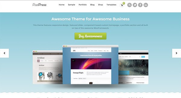 从WordPress主题上获取设计灵感 - 16