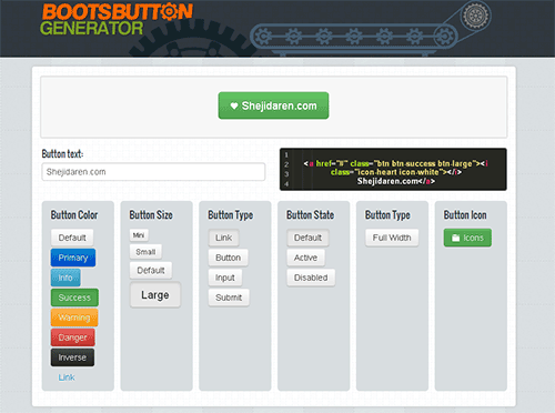 bootstrap-button-generator-web