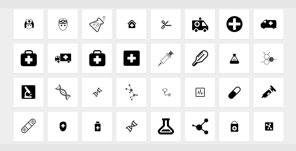 medical-icons