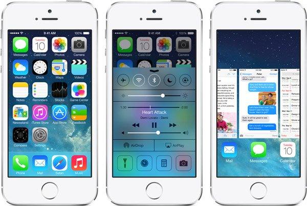 iOS 7在移动端的设计指南