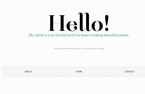 简约的企业网站和设计工作室网页设计作品