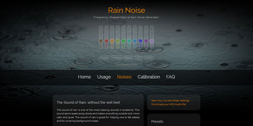 rain-noise