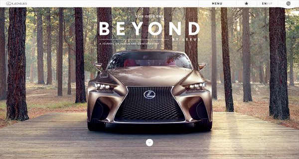 Beyond by Lexus Magazine