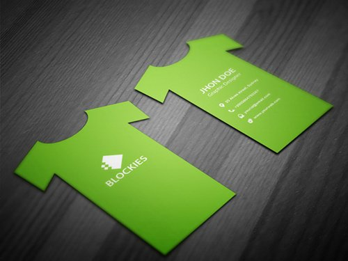 T-Shirt Business Card