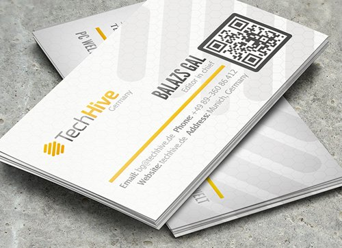 TechHive Business Card