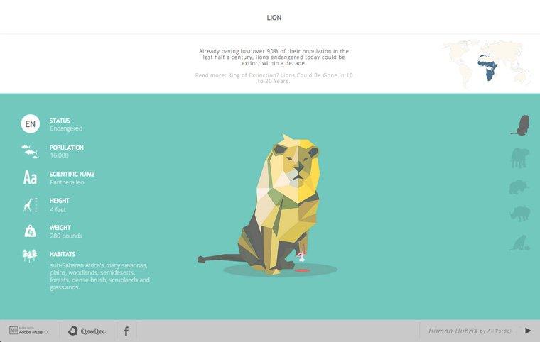 40个扁平化设计风格的网站作品