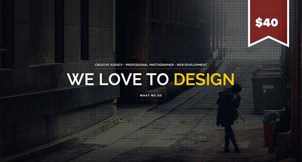 Brooklyn扁平化网页设计