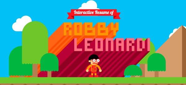 Robby Leonardi扁平化网页设计