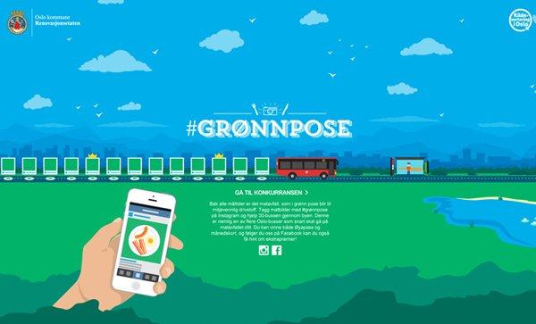 Gronnpose扁平化网页设计