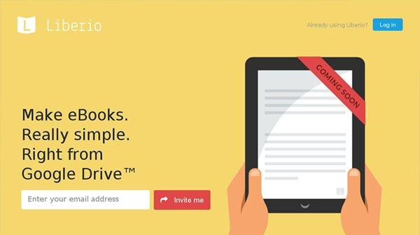 Liberio扁平化网页设计