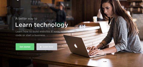 Treehouse扁平化网页设计