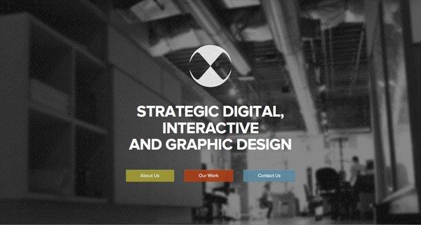 黑色网页设计Octane Design