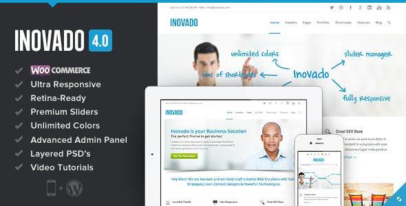 Wordpress主题:inovado4