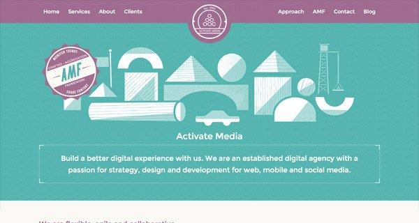 网页设计:Activate Media