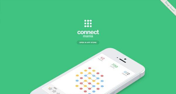网页设计:Connect Media