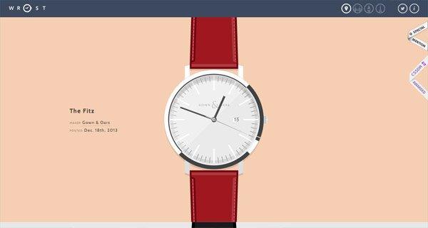 网页设计:Wrist