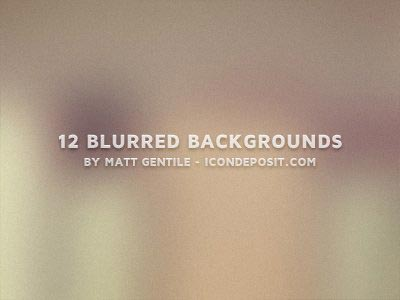 12_blurred_backgrounds ui设计