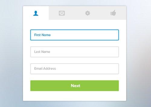 Registration Template 设计素材下载