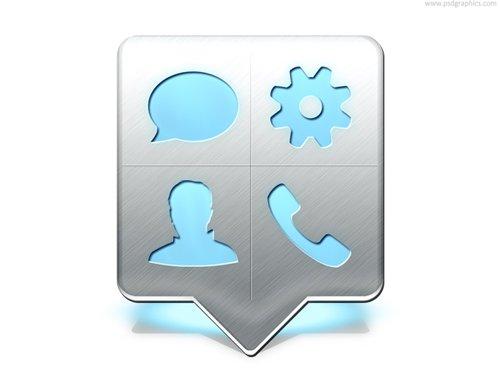 Cellphone menu pointer (PSD) 设计素材下载