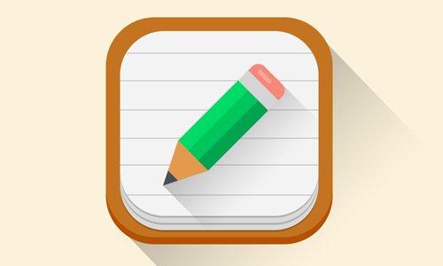 Flat iOS 7 App Icon 设计素材下载